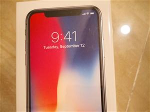 出售全新未拆封国行iPhoneX256G全网通一台