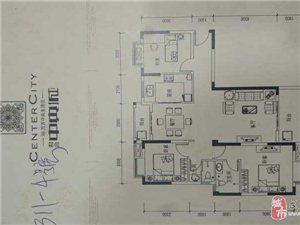 131君合中央城3室2厅2卫