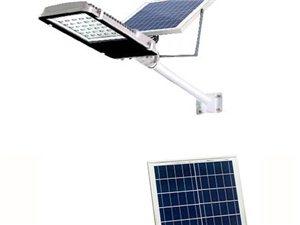 化州太阳能路灯 太阳能投光灯庭院灯户外灯批发照明