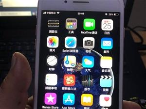 自用手机一直很爱护,玫瑰金色,机子成色很新,从未拆修过,国行32G,三网4G。过保几个月,电池还很耐...