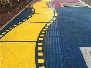 彩色透水混凝土的鋪裝細節與藝術壓花地坪材料