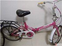 转让8成新的菲利普折叠小型自行车