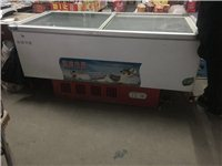出售自己家超市用冰箱冰柜各一台。