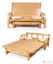 出售闲置二手折叠沙发床一个
