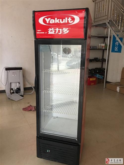 容量218升单门展示冰柜