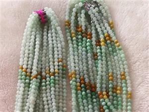 翡翠珠子手串手鏈項鏈玉器項鏈