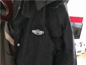 警用保安全新多功能羔羊皮高�n正品棉衣(加厚羊羔皮