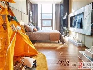 一手房贵阳绝版地段公寓高铁北站正对面买一层得两层