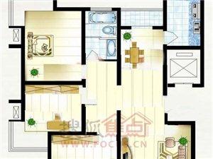 汇景新城120平3房2厅,132万可按揭,各付各税