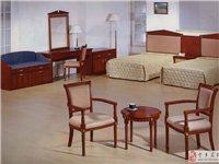 全新实木酒店客房定制家具一批急需处理
