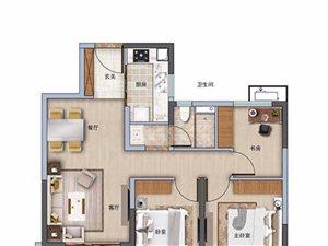 3室2�d1�l88平米
