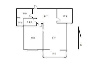 渭水苑A区2室精装71万可按揭