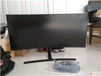 出售曲屏35寸显示器,只要1300