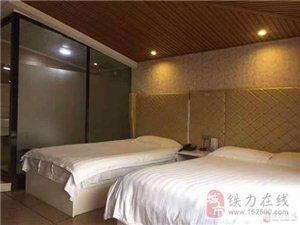 出租铁力市商铺宾馆营业中500米送地下室,设备齐全接手就可以营业