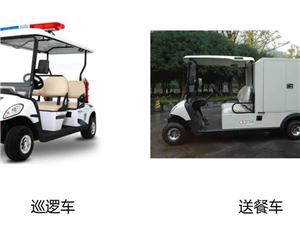 生產廠家出售電動觀光車、巡邏車、餐車