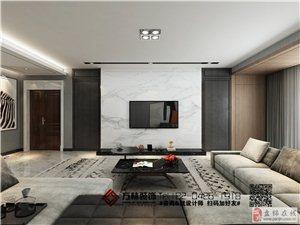 盤錦方林裝飾-盤錦廣廈領域160平黑白灰裝修案例