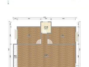 怡心花园2室2厅1卫37万元