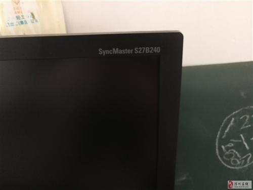 8.5成新三星27寸LED顯示器