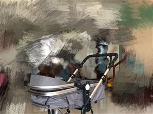 自用娇贝高景观婴儿推车可躺可坐可折叠