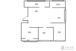 金王府,3室,能贷款  125平   88.5万