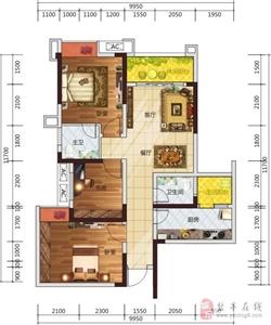 A户型3室2厅2卫