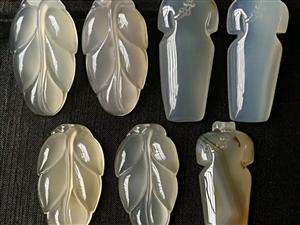 天然玉髓福豆�旒� 翡翠珠子��