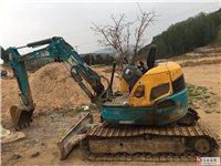 出售九成新挖掘机一辆