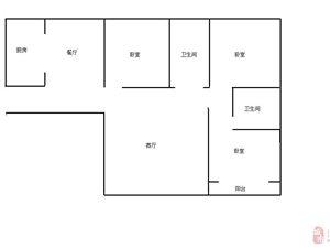 8齐心今城,城际铁路43室2厅2卫2300元/月
