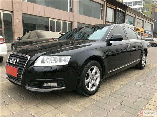 出售2010年10月份2.0T奥迪A6,精品车13万公里,车里车外特别好,无事故无换件