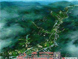 承接度假酒店建筑民宿设计规划平面鸟瞰效果图设计