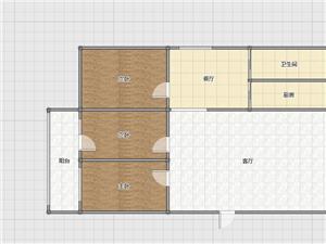 隆佳温泉小区3室2厅1卫带车库115万元