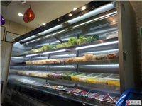 河南水果超市便利店定制飲料水果風幕柜廠家