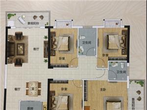 156沿江4室2厅2卫