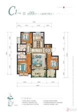 十里花开3室2厅2卫南北通透6500/平米