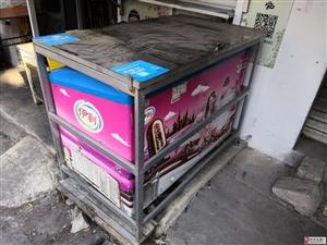 闲置冰箱防盗架