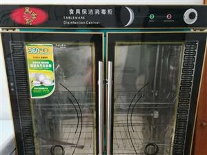 高温、射线、臭氧三重消毒双开门大消毒柜一台