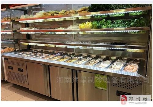 駐馬店信陽賣鴨脖熟食柜生鮮鮮肉鹵菜保鮮柜