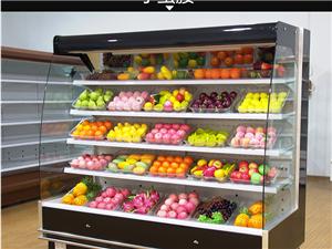 沈陽哪里有賣風幕柜 遼寧超市水果酸奶保鮮柜
