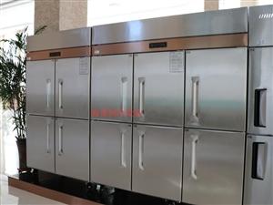商丘订做一台商用厨房冷冻柜四六门冰箱操作台多少钱
