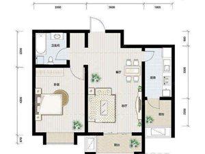 汇德园中装小三室出租了1600月