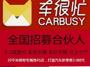 龍南區域0首付賣車,加盟車很忙汽車超市,年賺百萬