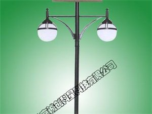 太陽能庭院路燈的優點