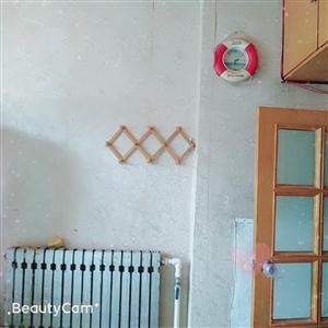 莱阳实验学区房绢纺厂3楼精装供暖2室带小房