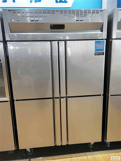 周口不锈钢商用冰柜四六门冰箱平冷操作台