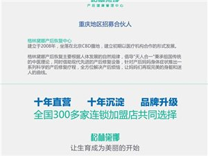 产后恢复中心 重庆地区招募合伙人