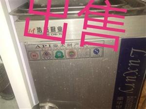 九成新双开门冷柜  全新蒸车