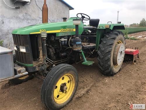 82馬力拖拉機+播種機旋耕機