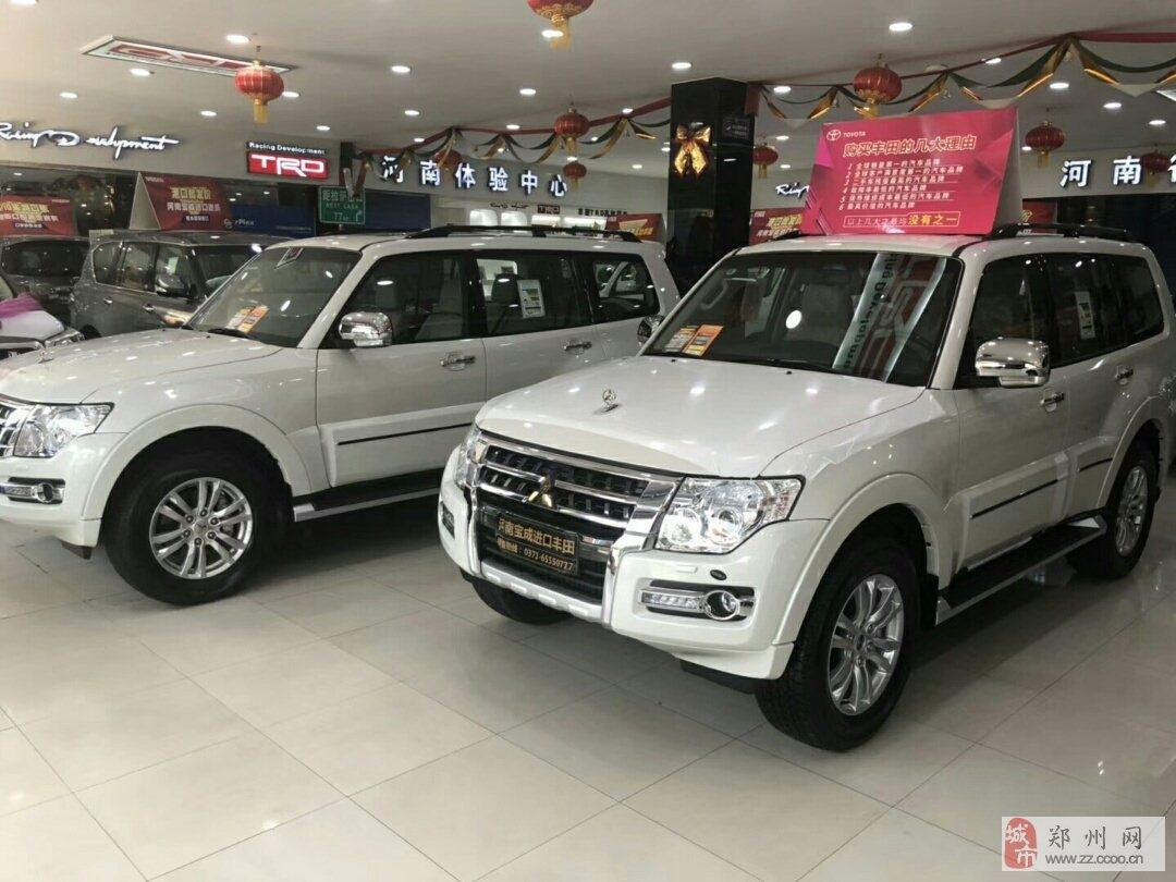 郑州哪里卖19款中东帕杰罗V97?