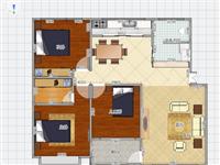 可贷款二十里堡3室2厅135万元带车库