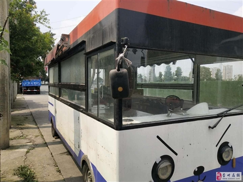崇州餐车转让,四轮车电动车,98成新